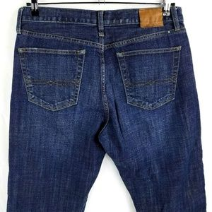 Lucky Brand 329 Classic Straight Blue Jeans 33x26